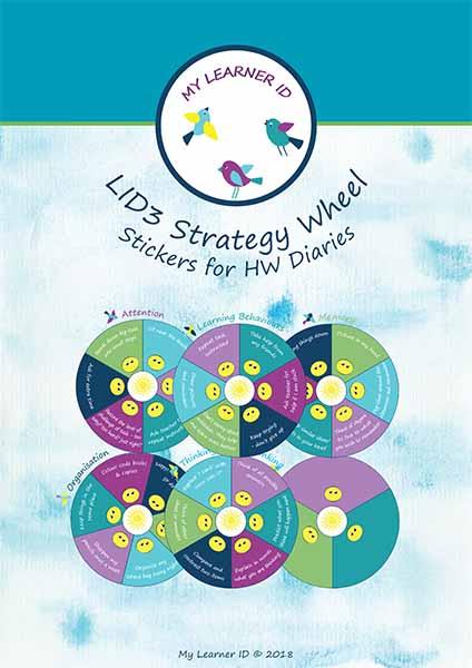 LID3 Strategy Wheel Stickers