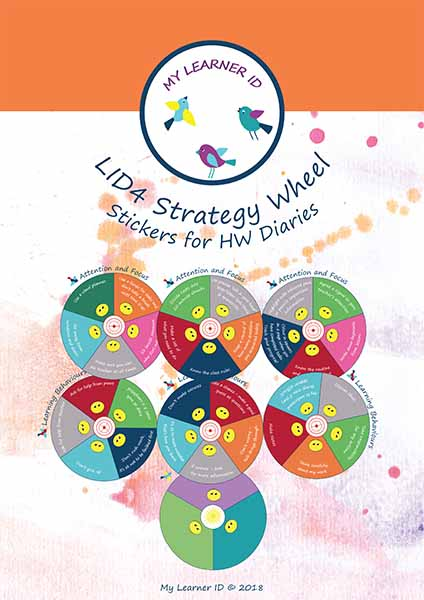 LID4 Strategy Wheel Stickers