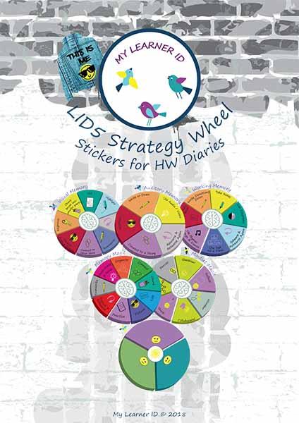 LID5 Strategy Wheel Stickers