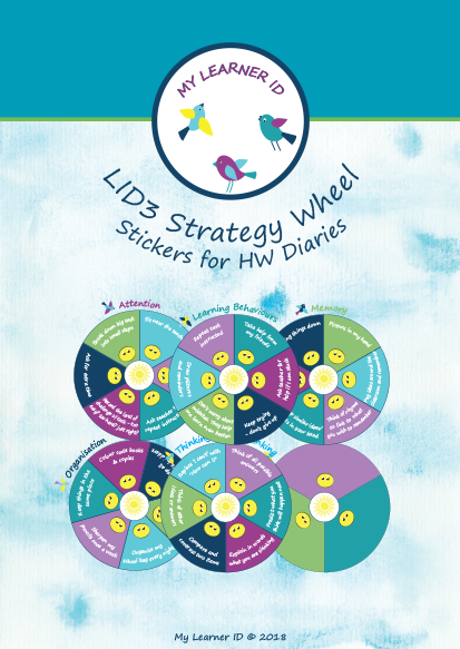LID3 Strategy Wheels Stickers HW Diary
