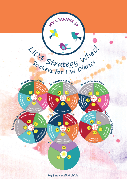 LID4 Strategy Wheels Stickers HW Diary